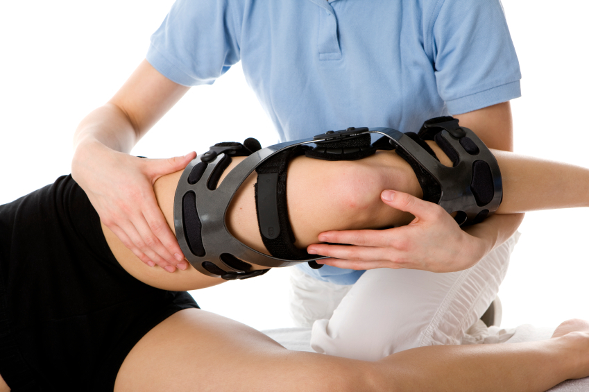 Dr. Paul Plaskett Knee brace